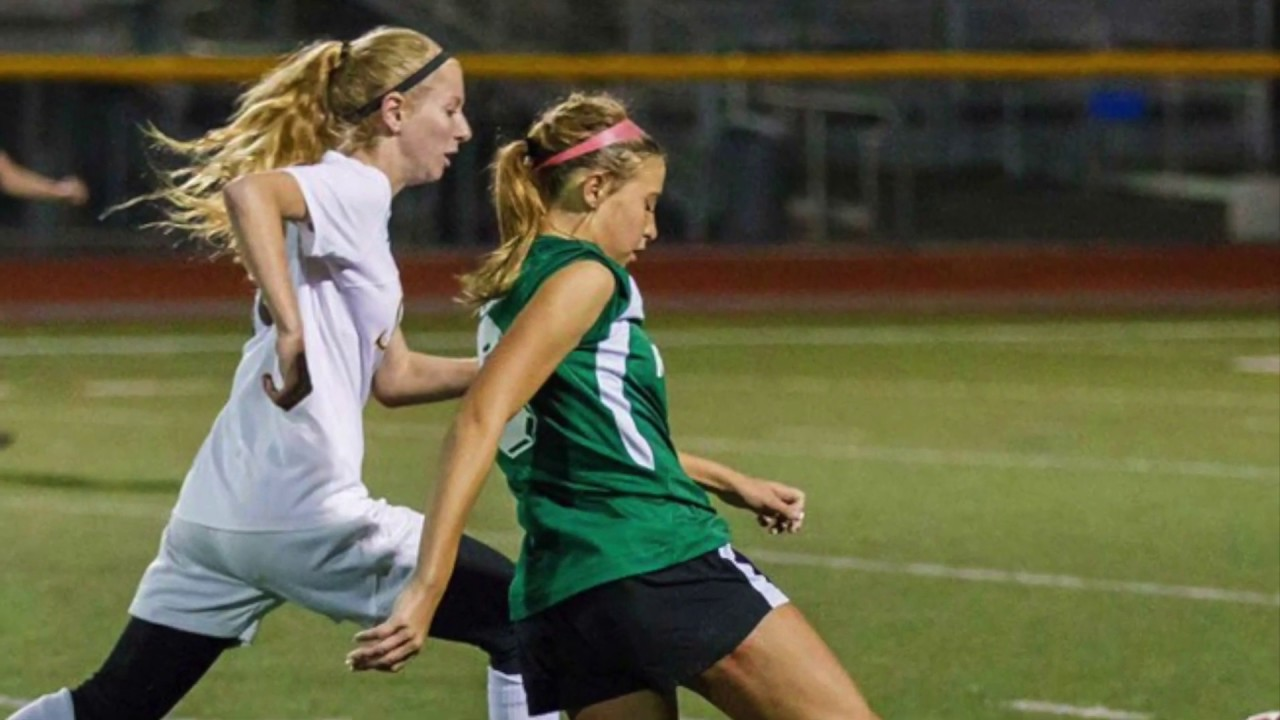 Girls Soccer: Zoe vs Haillie Mace Highlights - YouTube