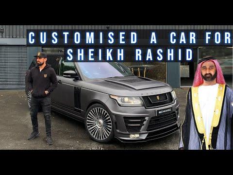 CUSTOMISED A CAR FOR SHEIKH RASHID !!!!