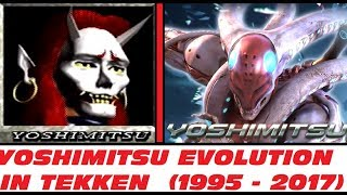 Yoshimitsu Evolution from TEKKEN 1 to TEKKEN 7 (1995-2017)