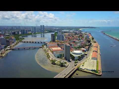 Veneza brasileira | A cidade do Recife | Drone Recife PE