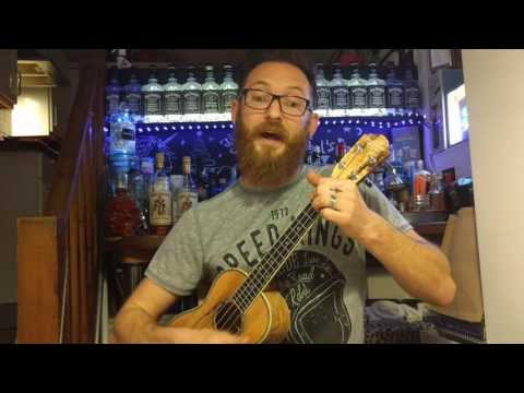 Ignition (remix) R. Kelly ukulele cover by Jason Dunn