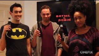 Schmoes Know Plays Batman & Robin Drinking Game - Movie Buzz