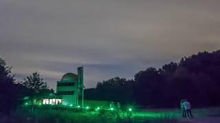 Sterrenwacht Mercurius bezoekers komen de Perseiden bekijken 11-8-2018