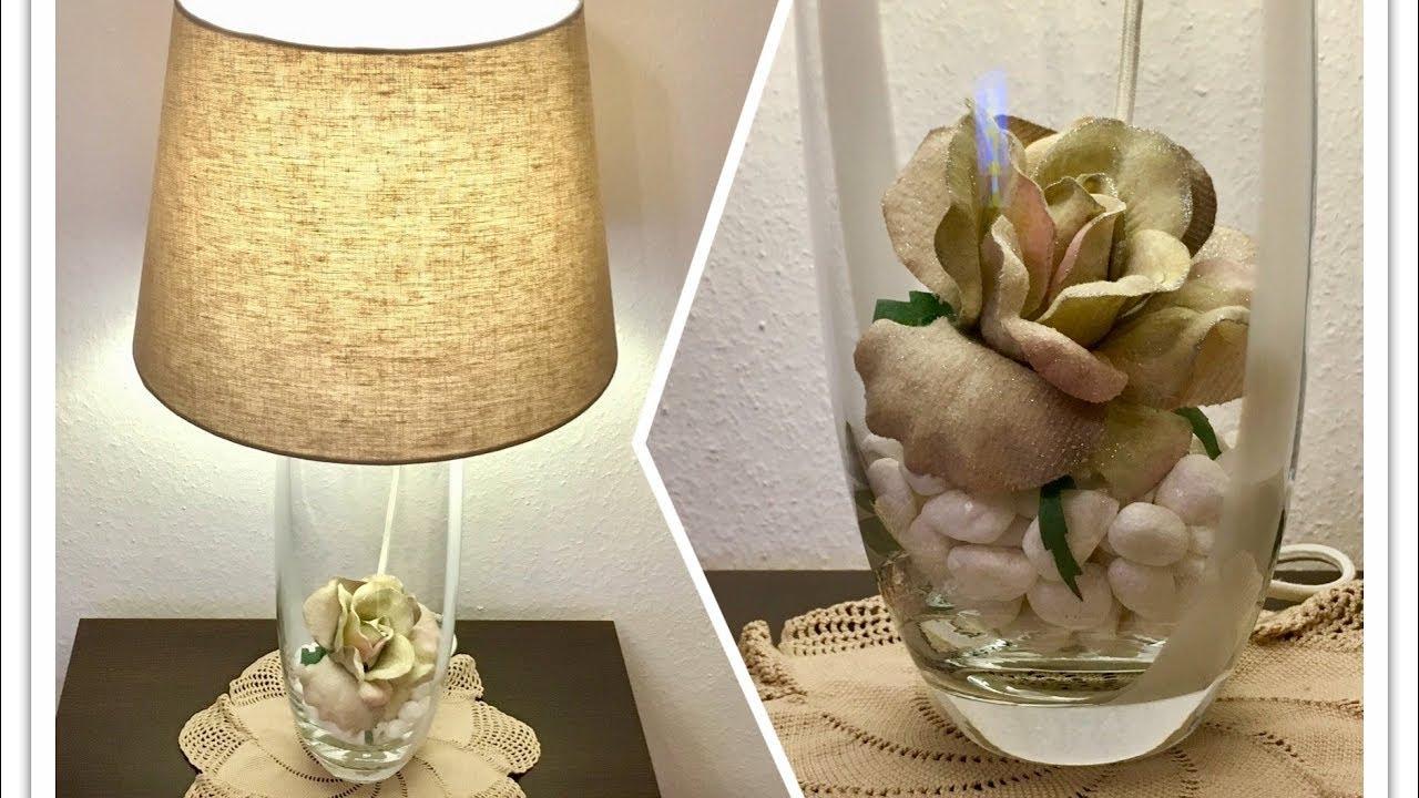 tischlampe selber bauen diy youtube. Black Bedroom Furniture Sets. Home Design Ideas