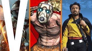 Battlefield V is Official + Borderlands 3 Skips E3 + Lando Spin-off Movie Details
