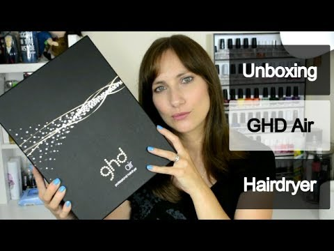 GHD Air Hairdryer Unboxing | Review | Chit Chat