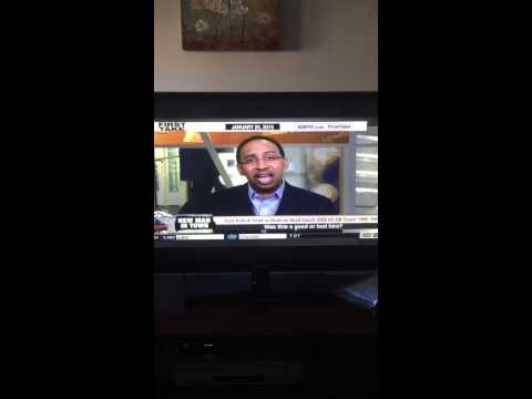 Stephen A Smith claiming the Broncos hired Gary Kubiak over Todd Bowles because he