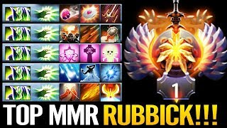TOP 2 MMR RUBBICK!! Epic Spell Steal 2019 Pro Play Dota 2 by No[O]ne