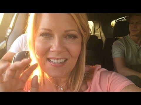 In the car...  Chesapeake Shores  Barbara Niven