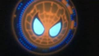 Spider Man Homecoming Web Shooter Signal Logo Projector by CandeeGeeks - Unboxing