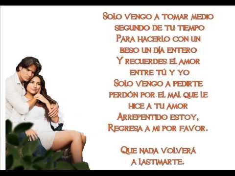 Perdoname-Camilo Blanes-Letra (Corazón Indomable).