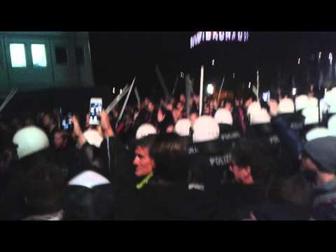 Fc Salzburg - Fc Basel / Basel Fanmarsch