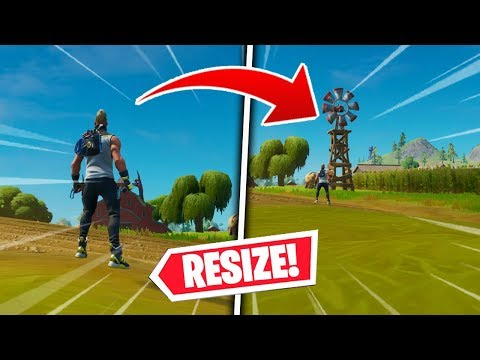 *CRAZY* TINY OR GIANT GLITCH! (RESIZE YOUR PLAYER!) - Fortnite Chapter 2
