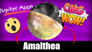 Jupiter Moon - Amalthea - Real Pictures - youtube.com/MoonsMonde