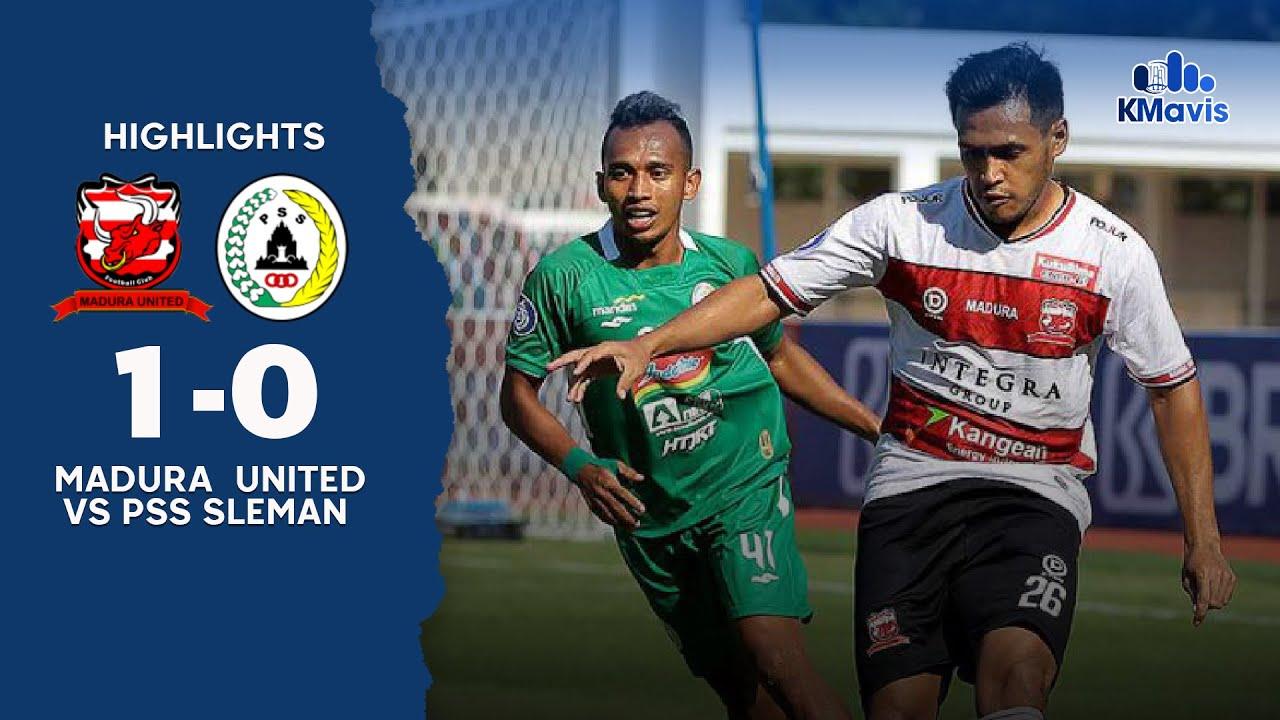 Download Madura United Raih Kemenangan Pertama, Ini Cuplikan Peluang-Gol dan Kunci Kalahkan PSS Sleman