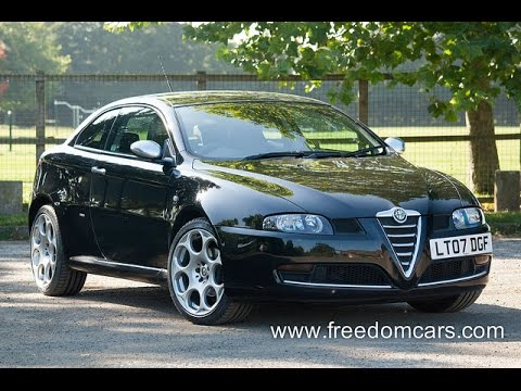 Alfa Romeo GT 2 0 JTS BlackLine 2dr One Owner Immaculate
