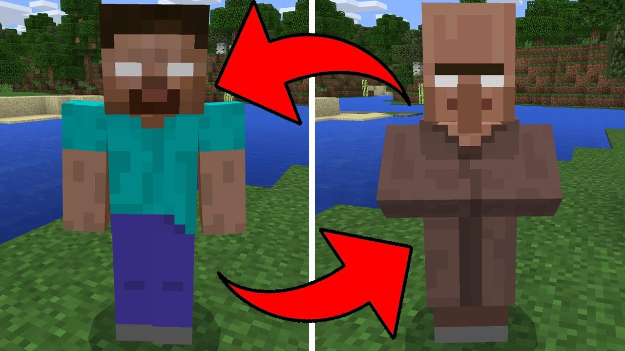 Minecraft Herobrine Para Colorear Y Imagenes De Minecraft: Can You Find Herobrine In Minecraft Pocket Edition