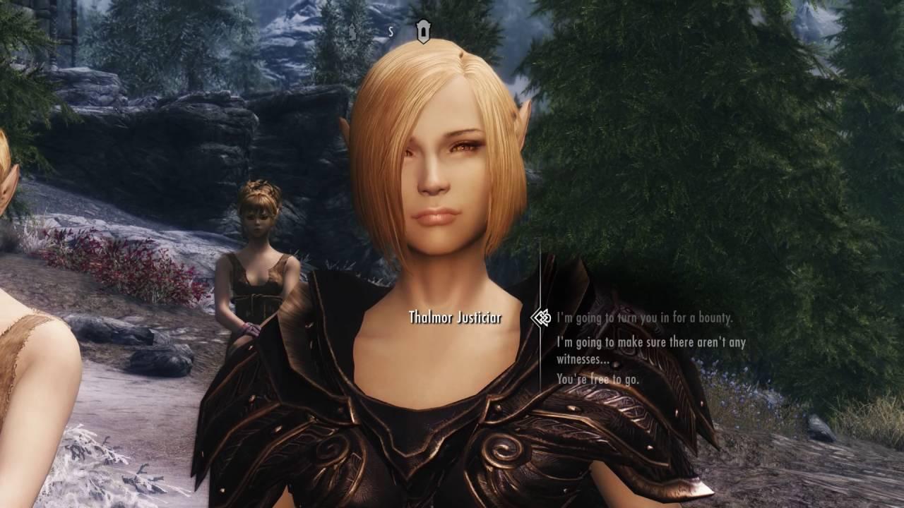 Skyrim Mods PC - KZ Style NPC Overhaul High Elves