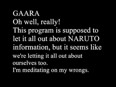 Oh! Naruto Nippon! Ep. 1 with Gaara [English subs]