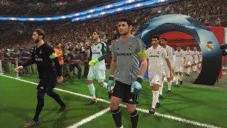 REAL MADRID LEGEND vs REAL MADRID 2018 I PES 2018 Full match Gameplay