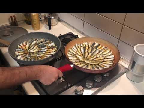 EaTravel - Fried Turkish Anchovies (Istavrit Tava)
