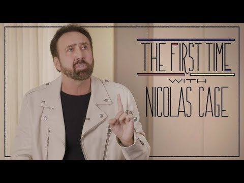 The First Time with Nicolas Cage  Rolling Stone