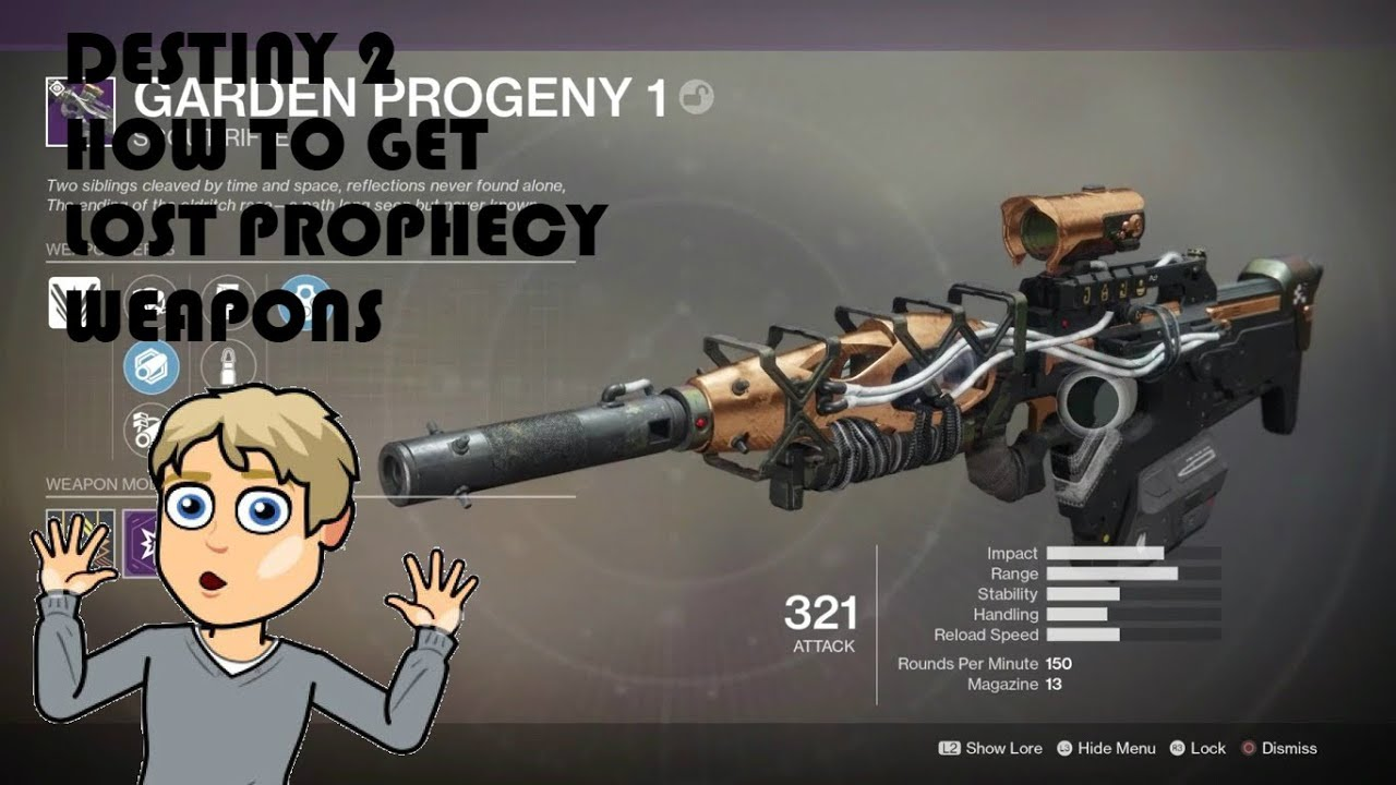 lost prophecy weapons
