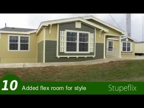 The bonanza flex manufactured home or modular home palm harbor homes youtube - The flex house ...