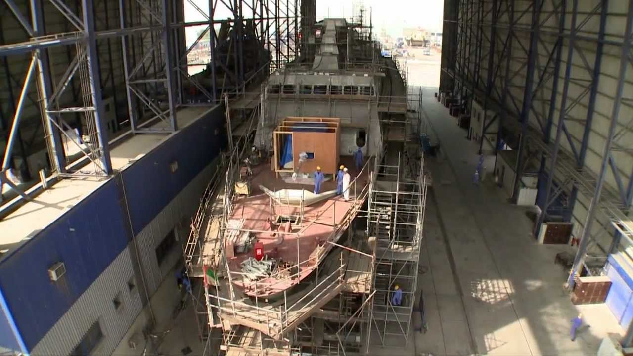 Military Ship Builders & Shipyards - Abu Dhabi Ship Building 2013 UAE  United Arab Emirates