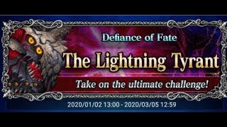 [FFBE] The Lightning Tyrant featuring Elena!!! ALL MISSIONS!!!