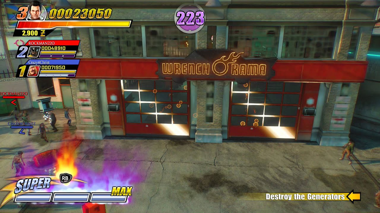 Super dead rising 3 arcade remix ingleton destroy generators super dead rising 3 arcade remix ingleton destroy generators garage airstrike super weapon xbo malvernweather Image collections