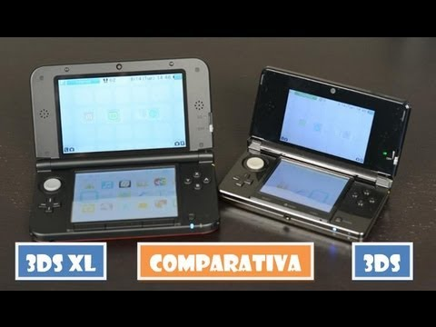 nintendo 3ds xl an lisis review comparativa con 3ds original hd youtube. Black Bedroom Furniture Sets. Home Design Ideas