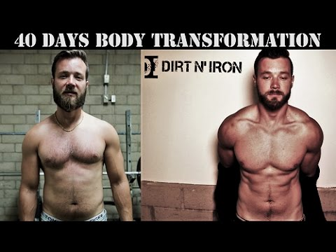 100 pull ups a day results, 100 dips a day results, 40 days body  transformation challenge