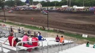 Figure 8 Racing in Hampton @ 2pm 8/19/18 Pro Stock Feature Pt 2