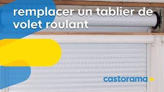 Comment Reparer Un Volet Roulant Porte Fenetre Escalier Castorama Fr