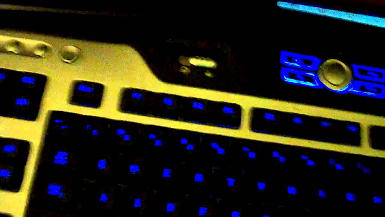 Logitech Y-UG75A Keyboard Gaming Driver for Windows 7