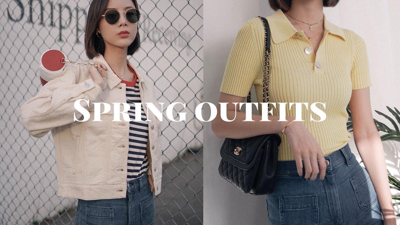 Spring Outfits 春季穿搭   七套搭配   高街   WearisWenning