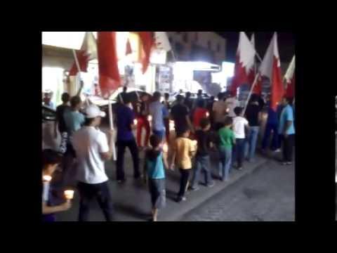 داركليب    مسيرة شموع تتضامن مع الشهيدة اسيا  5 10 2012