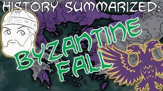 The Fall of the Byzantine Empire — History Summarized