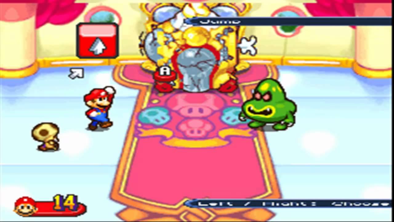 Mario Luigi Partners In Time Boss Fight 1 5 Junior Shrooboid
