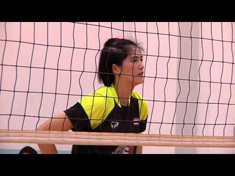 วอลเลย์บอลหญิงทีมชาติไทยซ้อม 2559-03-08