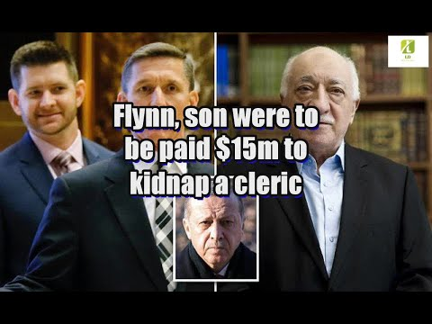 Flynn, son were to be paid $15m to kidnap a cleric