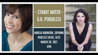 Music for Passiontide: Pergolesi's Stabat Mater