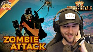 How to Survive a Zombie Attack ft. A1RM4X - chocoTaco Cuisine Royale Gameplay
