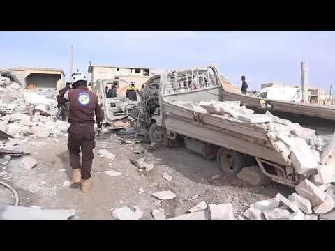 طائرات الإحتلال الروسي ترتكب مجزرة في قرية الطبيش بريف إدلب  - 15:21-2018 / 1 / 16