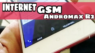 Internet GSM Andromax R2 (I56D2G) - Unlock GSM 3G / H+