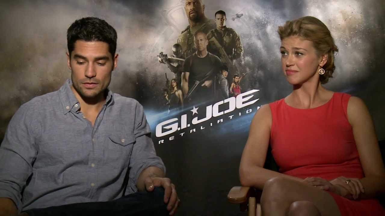 g i joe retaliation cast director talk action youtube