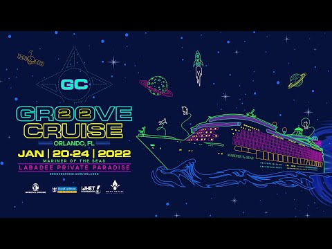 Groove Cruise Orlando 2022 to Labadee Private Paradise aboard the Mariner of the Seas Jan 20-24