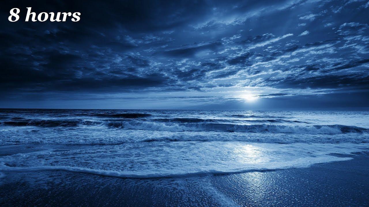 Fall Wallpaper Ocean Soothing Sleep Music Relaxing Harp Music Sleeping