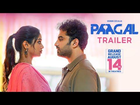 Vishwak Sen releases theatrical trailer of 'Paagal'